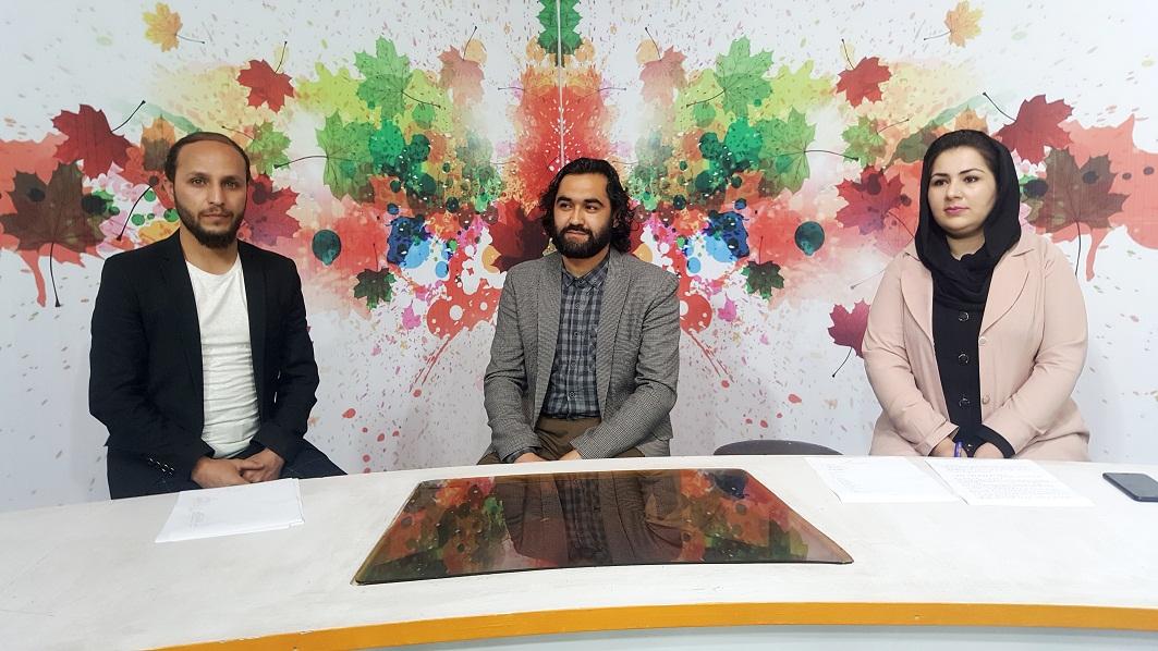 عکس ها و تصاویر احمد محمود امپراطور که در  برنامه های تلویزیون های جمهوری اسلامی افغانستان اشتراک نموده است