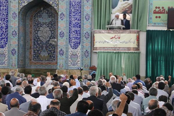 خطبه های نماز جمعه پنجم خرداد هزار وسیصد و نود و شش قائم شهر - خطیب : آیت الله معلمی