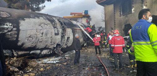 سقوط هواپیمای ارتش