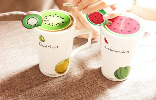p5pj s l500 %283%29 خرید ماگ میوه ای نی دار فلزی سرامیک لعاب دار