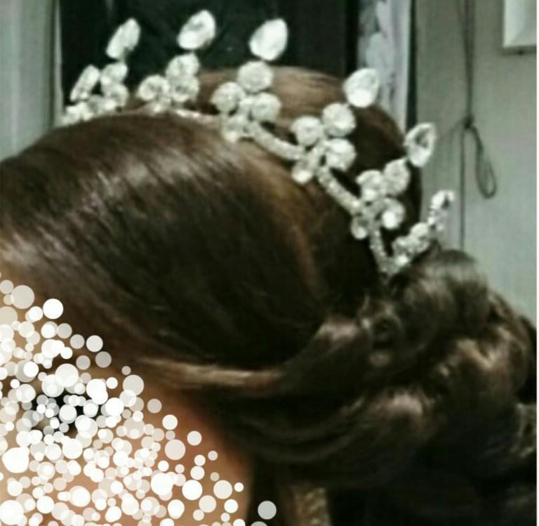 [تصویر: عکس تاجهاتون در روز عروسیتون ]