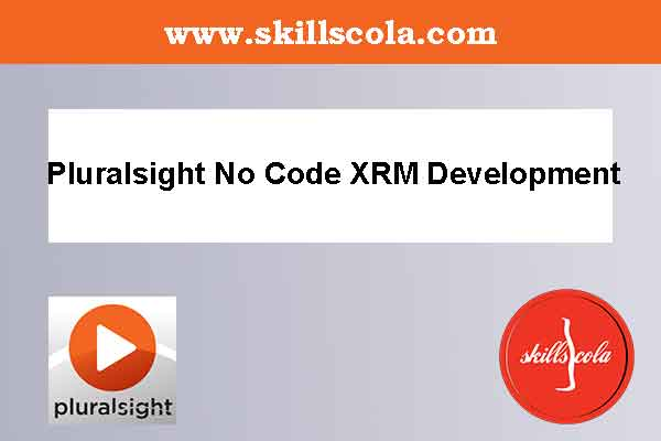 Pluralsight No Code XRM Development