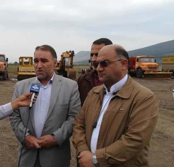 پروژه بهسازی محور آزادشهر – خوش ییلاق از سرعت خوبی برخورداراست