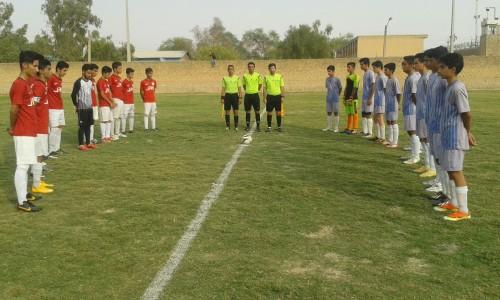 افتتاحیه مسابقات فوتبال باشگاهی جوانان شهرستان رامهرمز در فصل 95/96