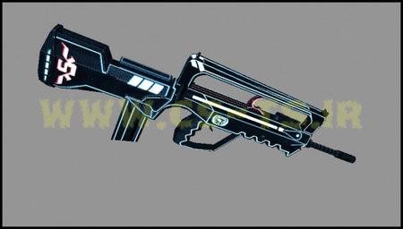 دانلود اسکین زیبای اسلحه ای special_force_2_famas_sfwc برای کانتر1.6