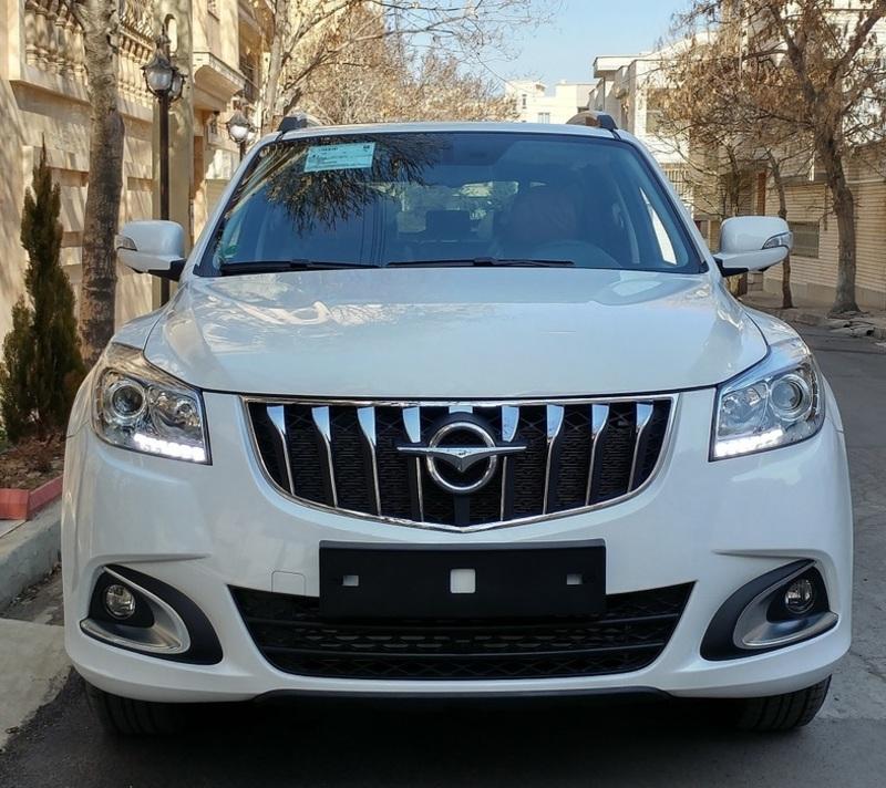 فروش اقساطی هایما S7 توربوشارژ با مدل 97 (دی 96)(ایران خودرو)