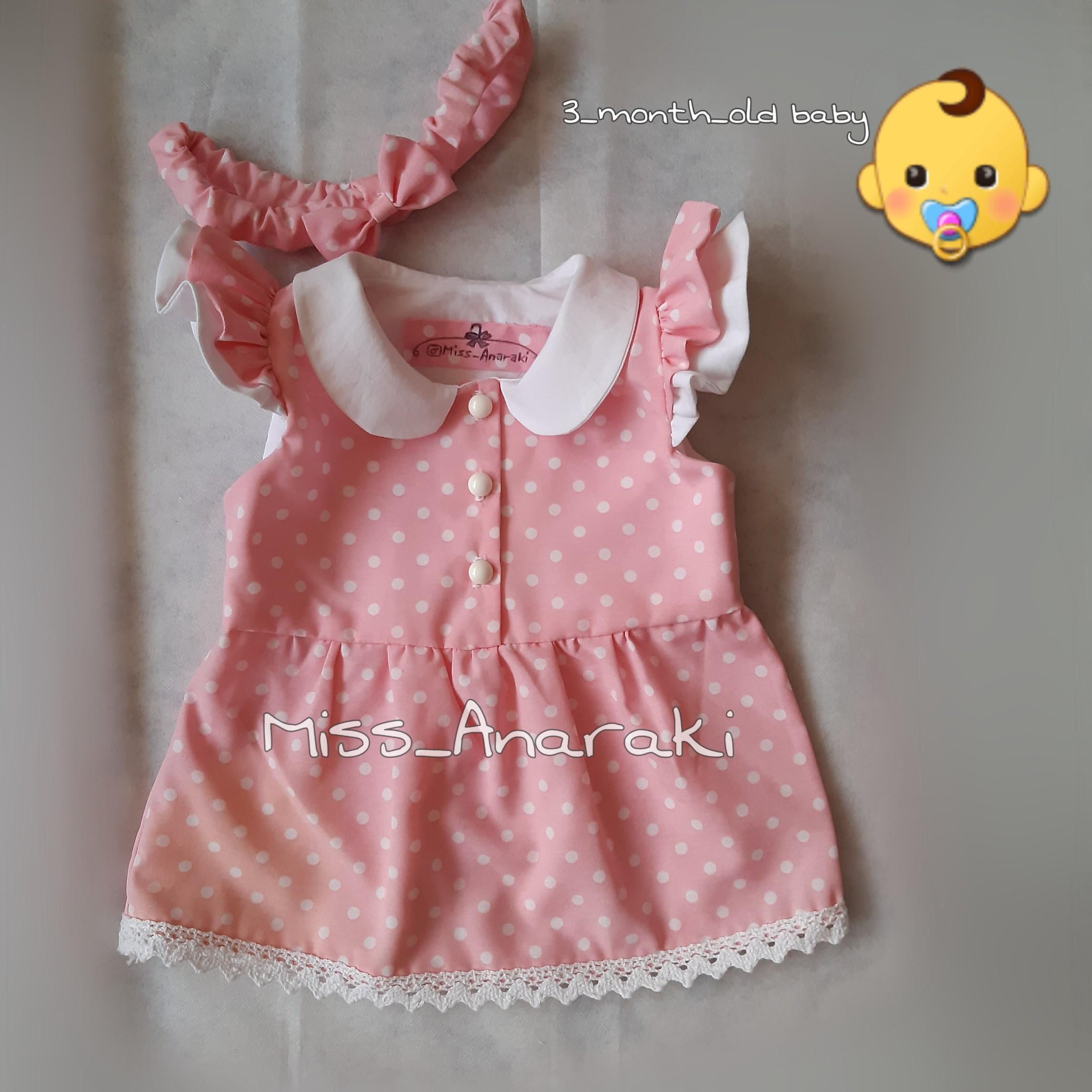 لباس نوزاد دختر پیراهن