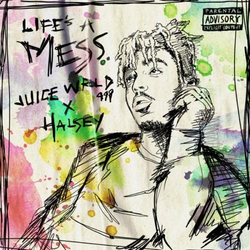 دانلود آهنگ Juice WRLD & Halsey - Life's a Mess