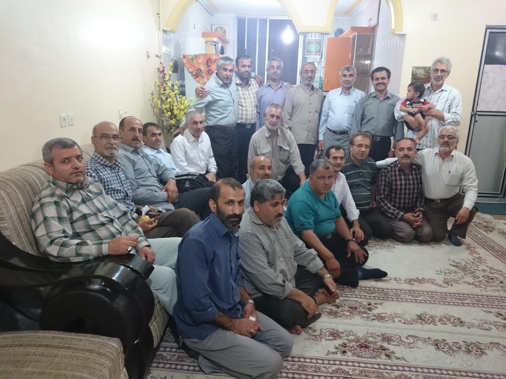 جلسه هیات آزادگان بهشهر مهر94