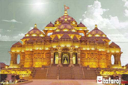 سفر به هند، دیدنی های هند، معبد آکشاردام