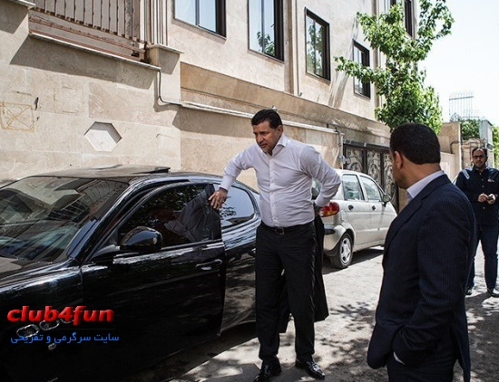 خودروی جدید علی دایی