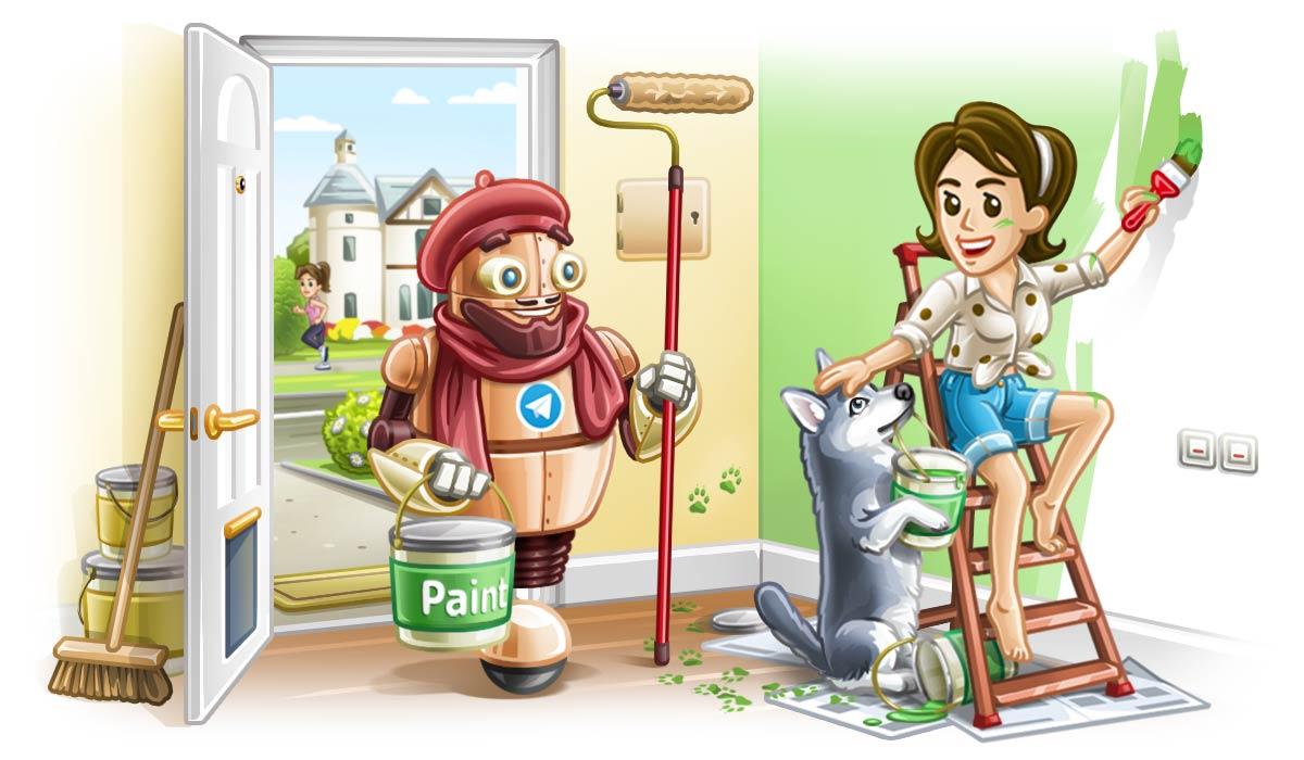 ساخت تم تلگرام