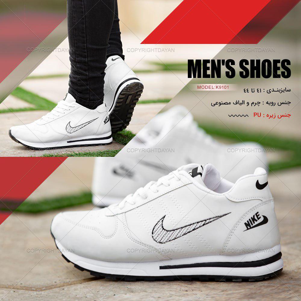 کفش مردانه Nike مدل K9101 (سفید)