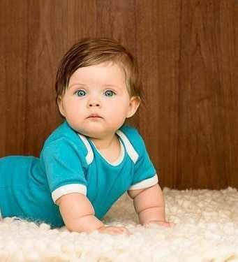 لباس آبی کودک