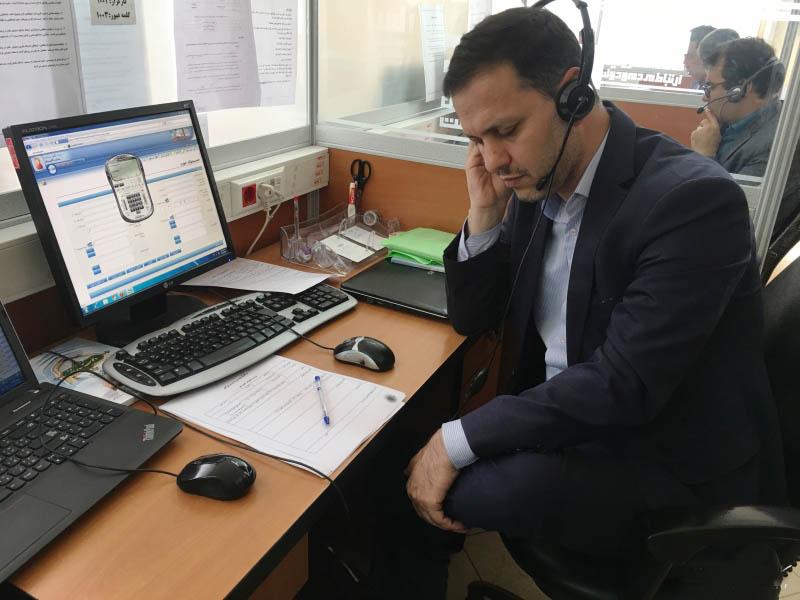 حضور مدیرکل ارتباطات و فناوری اطلاعات گلستان در سامانه سامد گلستان