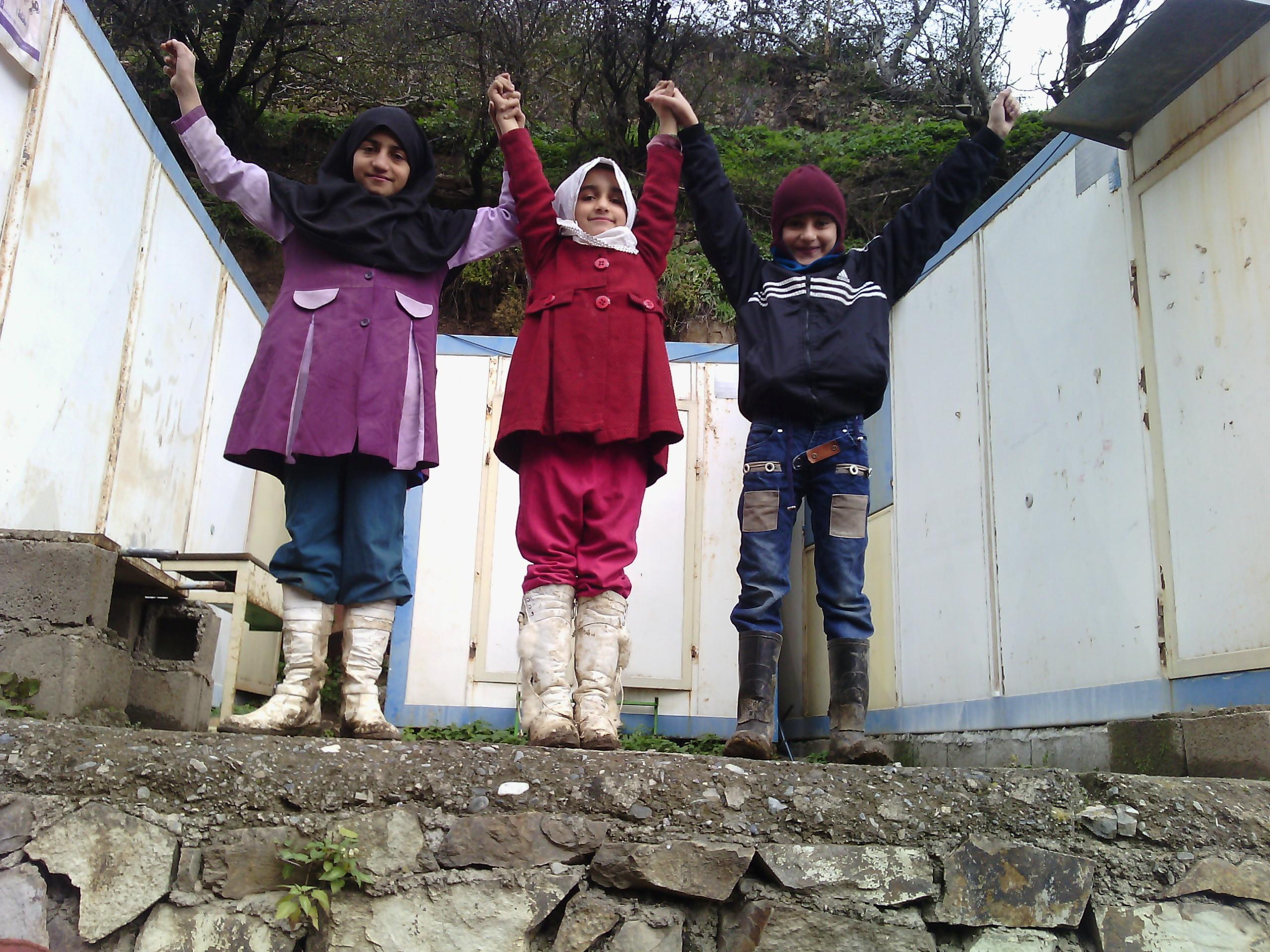 مدرسه ی روستای گلامره کوچک ترین مدرسه ی جهان