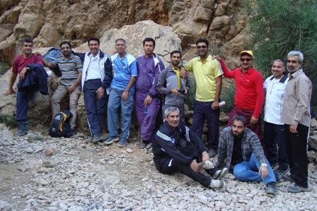 برنامه کوهپیمایی 28 اردیبهشت 94 در کوه دراگ شیراز
