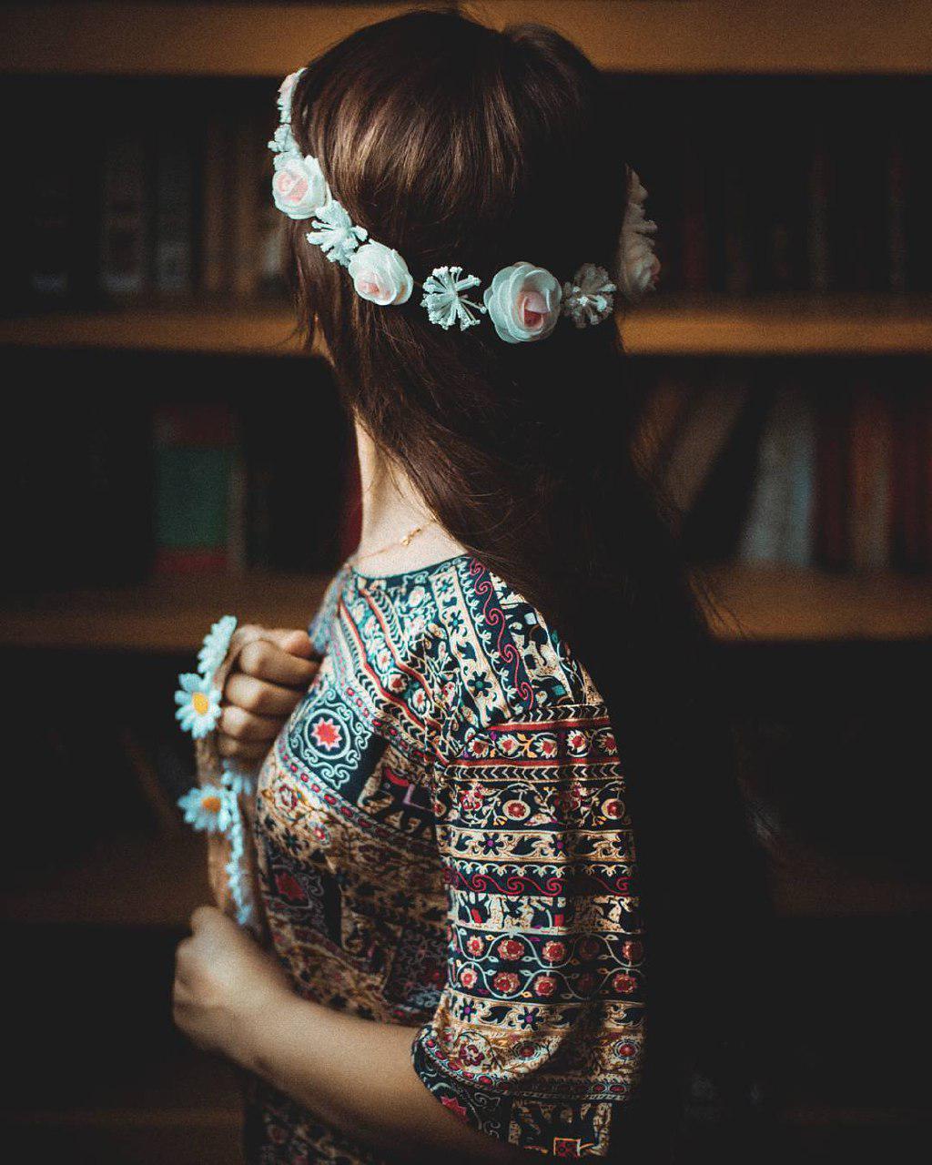 عکس زیبا از دختر