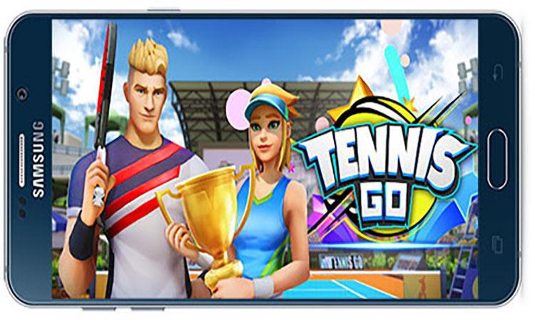 دانلود بازی اندروید Tennis Go: World Tour 3D