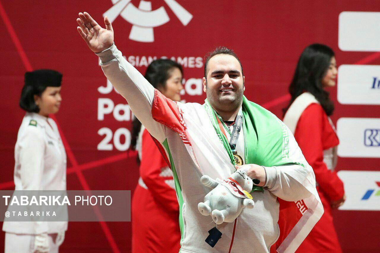 ۱۳ مدال سهم مازنیها از جاکارتا ۲۰۱۸