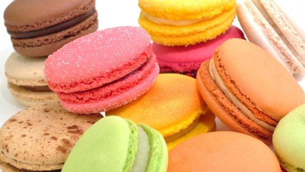 والپیپر اچ دی شیرینی های رنگارنگ
