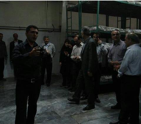 مراسم افتتاحیه سالن کشت و پرورش قارچ مرکز تحقیقات و آموزش سازمان جهاد کشاورزی