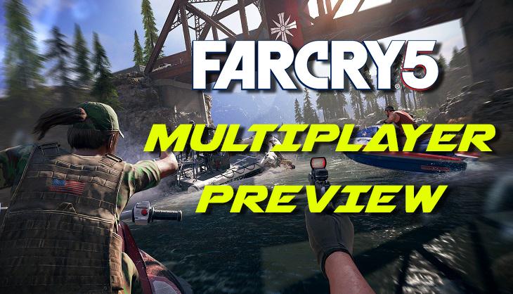 گیم پلی بازی(Far Cry 5 online arcade(Multiplayer