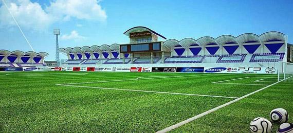 زندهشدن روح فوتبال در نوشهر؛ ورزشگاه شهدا در مراحل بازسازی