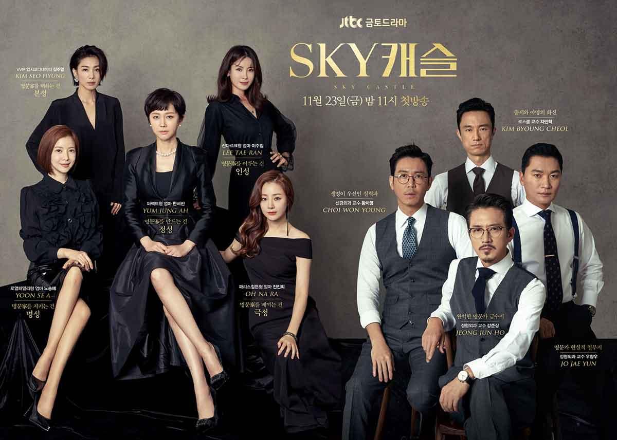 دانلود سریال کره ای قلعه آسمان - SKY Castle 2018 - با زیرنویس فارسی سریال