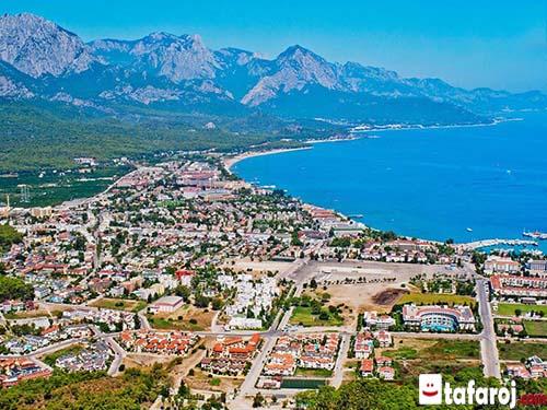شهر ساحلی کمر آنتالیا