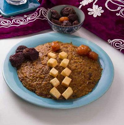یخمه ترش غذای اصفهان