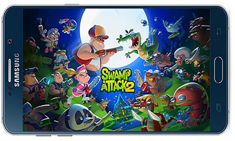 دانلود بازی اندروید Swamp attack 2