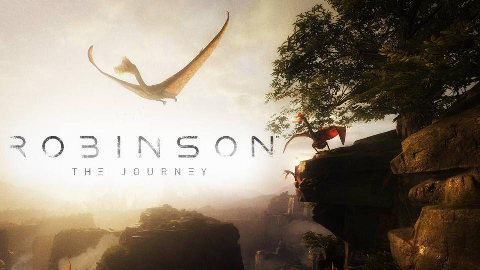 عنوان Robinson: The Journey توانایی موتور کرایانجین در خلق محیط با جزئیات باورنکردنی را بهتصویر میکشد