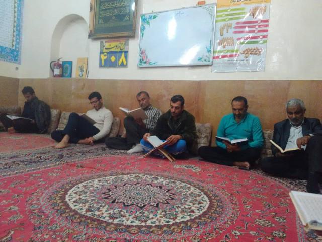 برگزاری حلقه صالحین شهید اسماعیل رزمجو در مسجد امام خمینی(ره)