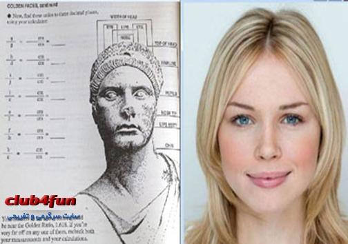 زیباترین دختر بریتانیا با معیار ریاضی
