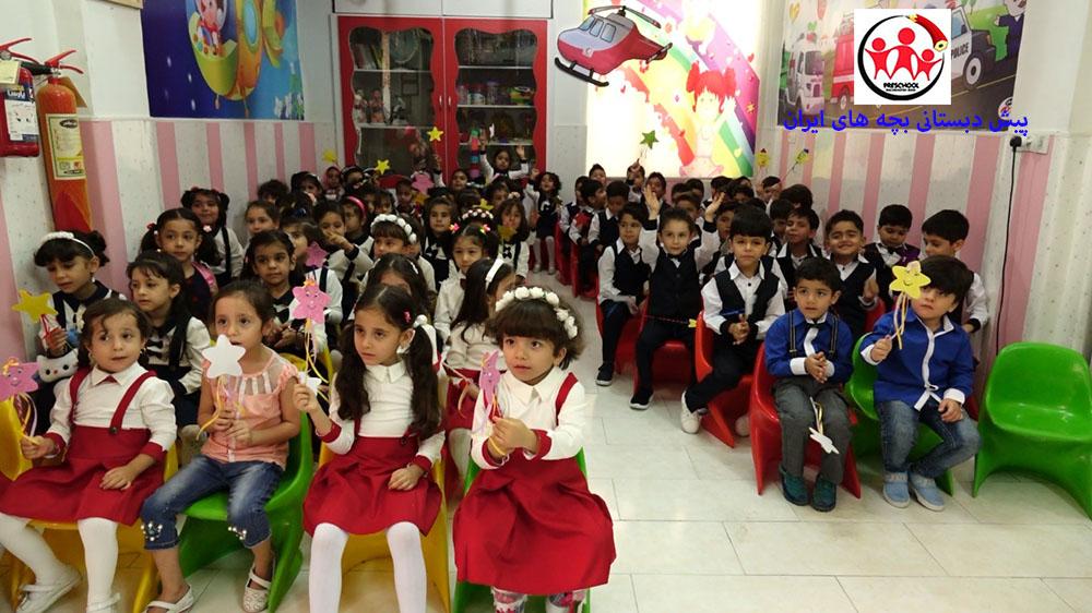 بازگشایی پیش دبستانی بچه های ایران سال تحصیلی 97-96 (عکس های مربوط  به تاریخ 29 شهریور 96)