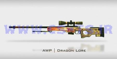 دانلود اسکین اسلحه ای awp_-_dragon_lore_2_2 برای کانتر گلوبال