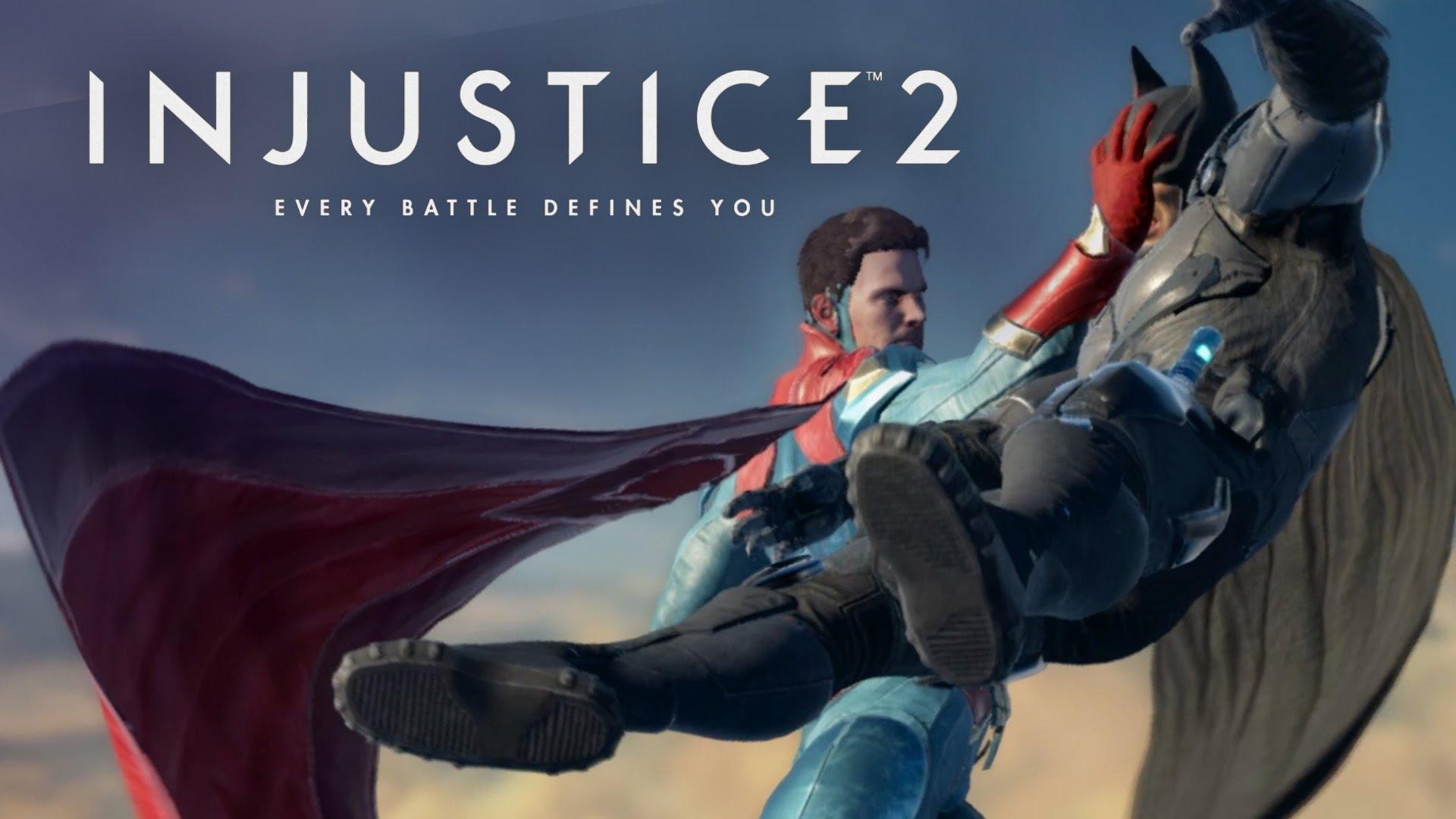 گیم پلـــی Injustice 2 آمد