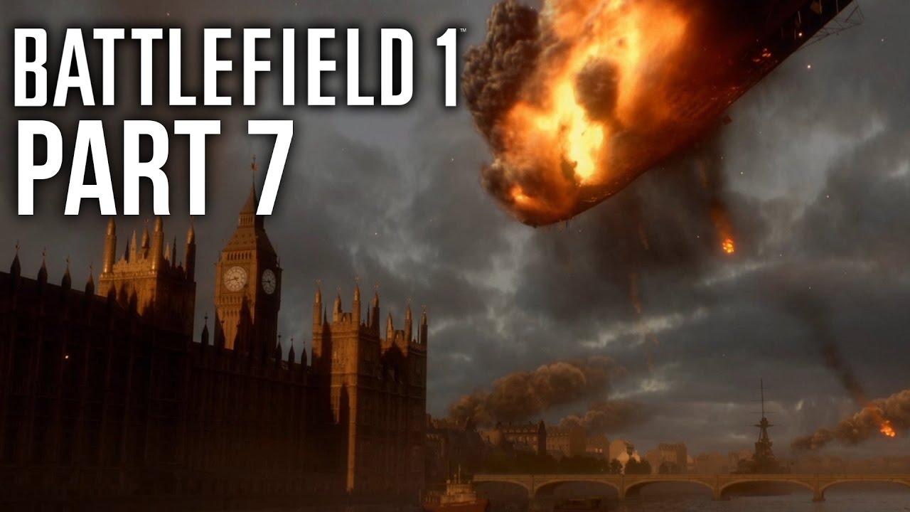 گیم پلی بازی بتلفیلد 1 مرحله 7 - Battlefield 1 Gameplay