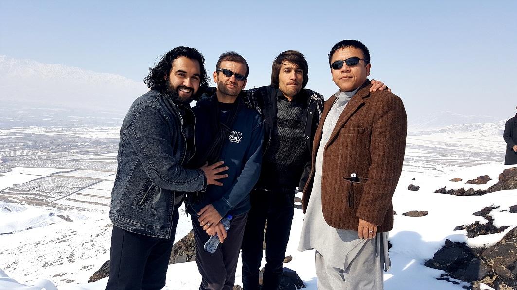 احمد محمود امپراطور، عبدالمالک عطش، هلال فرشیدورد و هادی میران شاعران جوان افغانستان