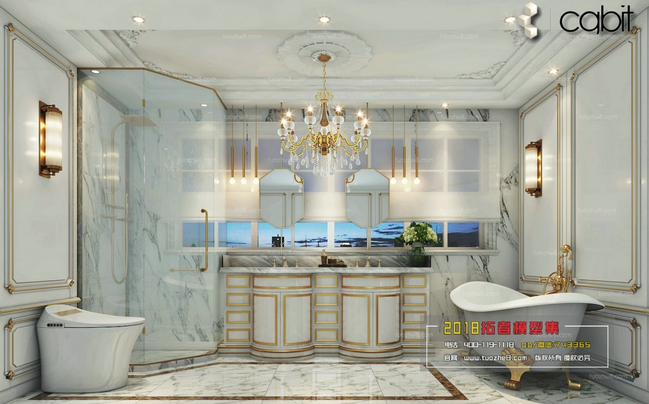 rs6p th 8698845068 1320x822 - مجموعه صحنه آماده رندر حمام و دستشویی 2018