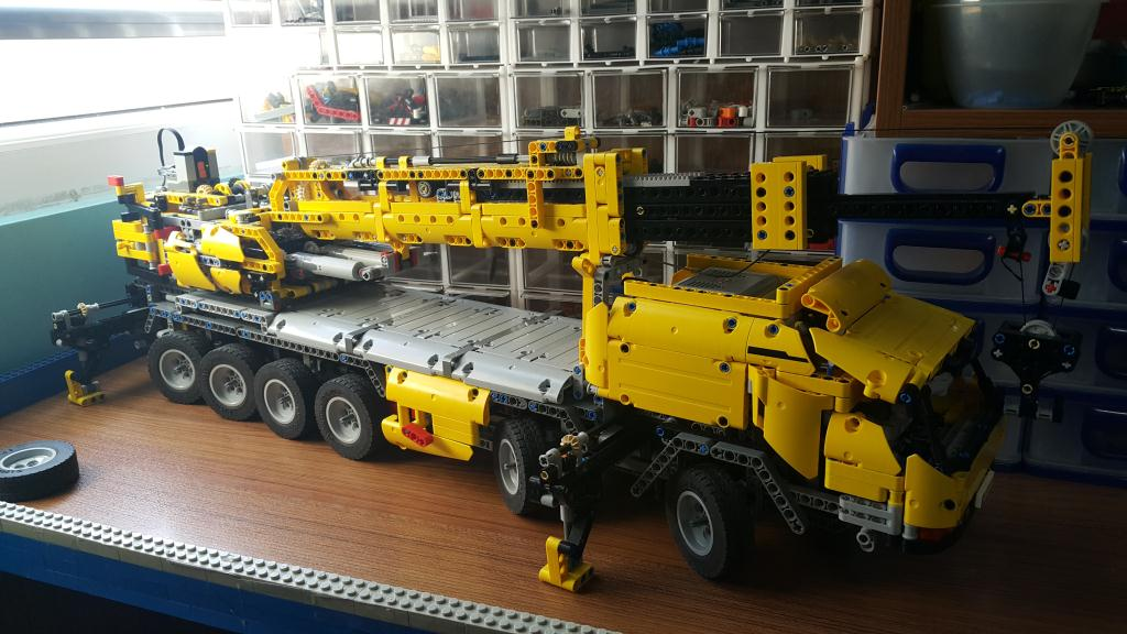 42009 fully rc using 2 receivers lego technic. Black Bedroom Furniture Sets. Home Design Ideas