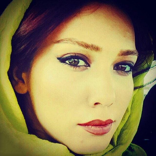 سلفی جدید شهرزاد کمالزاده در خرداد 94