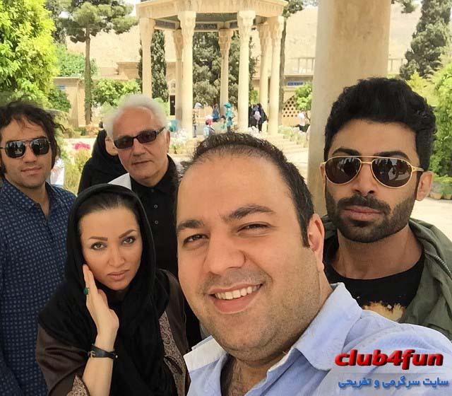 جدید ترین عکس های روناک یونسی در سفر به شیراز