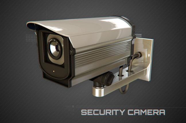 s34v security camera - مجموعه مدل سه بعدی تجهیزات الکترونیک و تکنولوژی C4D