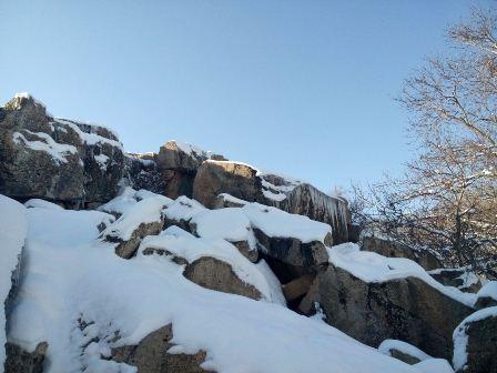 سنگهای آهکی ایشیق بولاغی چورس