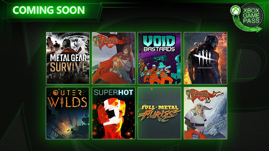 8 بازی جدید به سرویس Xbox Game Pass اضافه میشوند