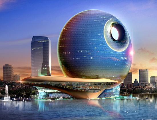 شکوه هنر معماری مدرن