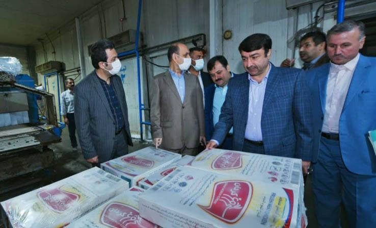 خوشبختانه تولید مرغ یکی از مزیت های مهم استان است