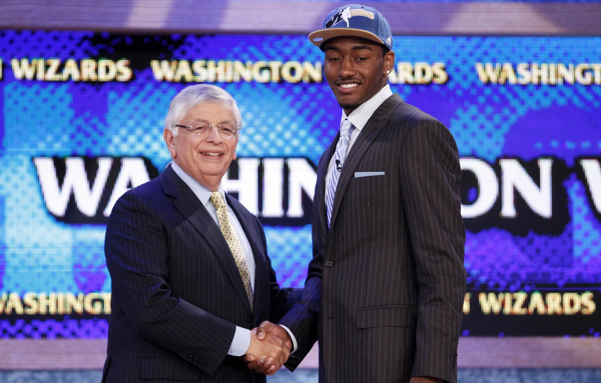 جان وال-واشنگتن ویزاردز-لیگ NBA-درفت NBA